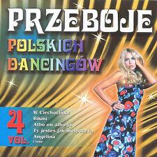 Przeboje polskich dancingow Vol. 4 (CD)  NEW
