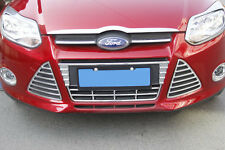 Ford Focus LW Chrome Front Lower Bumper Middle Grill Cover Garnish Surrounding
