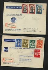 Netherlands   2  registered covers          MS0119