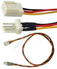 """10pk 18""""LONG ATX 3pin Fan Power Supply Extension Male~Female Cable/Cord $SH DISC"""