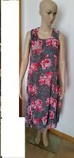 NEW WITH TAG ~ MILLERS ~ ROSE PRINTED DRESS WITH NECKLACE~ SIZE 10 RRP $49