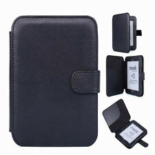 QW Leather Pouch Case Cover For Barnes Noble B&N Nook 2 2nd Simple Touch Reader