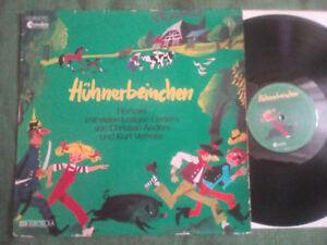 LP: CHRISTIAN ANDERS - Hühnerbeinchen - CHRANDERS RECORDS / EMI ELECTROLA