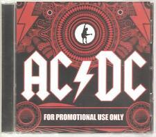 "AC/DC ""Sampler"" 11 Track Promo CD Sampler USA 2008 RARE"