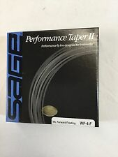 """SAGE PERFORMANCE TAPER II WF4F FLY LINE *NEW IN BOX* """"OVER 50 % OFF RETAIL"""""""