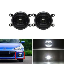 Guide DRL Halo Led Front Fog Lights Kits For Honda Toyota Nissan Subaru Acura