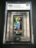 CARMELO ANTHONY 2003 TOPS MATRIX #113 FRAMED MINI ROOKIE RC BGS BCCG GRADED 10