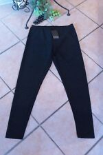 BORIS INDUSTRIES Leggings Spitzenoptik 42 44 (2) NEU! schwarz Wellen LAGENLOOK