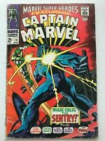 Marvel Super-Heroes #13 1st App. of Carol Danvers Captain Mar Vell Avengers