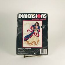 """Dimensions Counted Cross Stitch Kit """"Angel of Harmony""""  1995"""