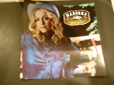 Madonna -MUSIC - 2 Sided Promotional Poster Flat & Small Poster