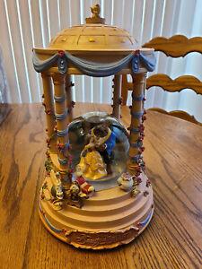 Disney Store's Beauty and the Beast Snow Globe - RARE