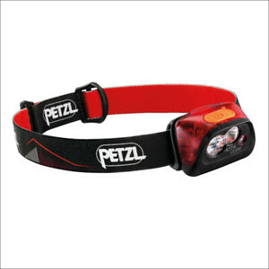 PETZL ACTIK CORE RED E099GA01 - 450 LUMEN RECHARGEABLE HEADLAMP COMPACT