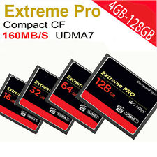 New Hot For Camera UDMA7 128GB Compact Flash High Speed Momery Card 160MB/S