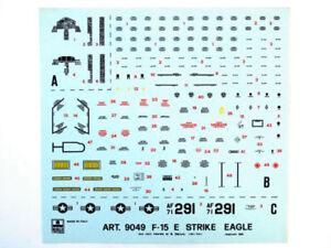 Esci 9049 Vintage Decals F-15E Strike Eagle 1:72 modellismo