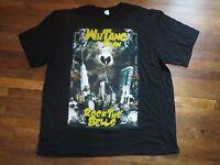 WU-TANG  CLAN - ROCK THE BELLS 2010 TOUR -  T-SHIRT NEW  HIP HOP WUTANG XXL