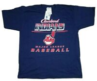 Vtg Cleveland Indians MLB 1998 Single Stitch CSA Chief Wahoo T-Shirt XL USA NEW