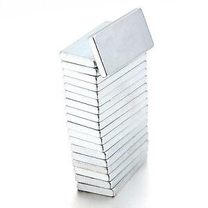 TOP 5/10/20/50 PCS 20x10x2mm Neodymium Block Magnet Super Strong Earth Magnets