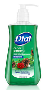 Dial Hydrating Liquid Hand Soap, Cedar Balsam, 7.5 Fl. Oz