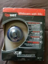 New in Box - Blue Gigaware Webcam with Mic - 1.3-megapixel
