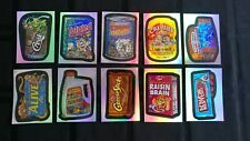 2006 Wacky Packages Ans3 Foil Stickers Complete Set Of 10