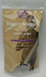 Hugger Mugger Tapas Simple Sling in Green & Yellow for Yoga Mats Exercise