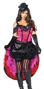 Highkick Honey Burlesque Dance Hall Costume, Leg Avenue 83786, 2 Piece, Size S M