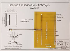 900 MHz Yagi Antenna by WA5VJB with Connector
