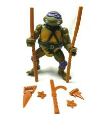 Vintage TMNT 1988 Turtles SOFT HEAD DONATELLO Figure w Accessories 100% Complete