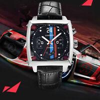 KIMSDUN Herren Leder Luxus Automatik Uhr Armbanduhr Automatic Mechanical Watch N