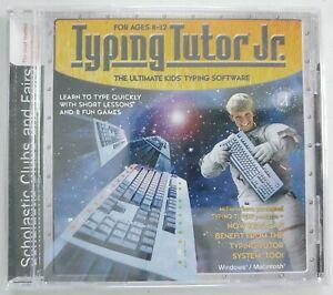 Typing Tutor Jr. - VTG Windows/PC/Mac Computer Software CD - Simon/Schuster
