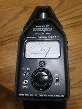 sound level meter Tracoustics SLM S2A