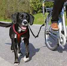 Bici Bicicleta distancia de plomo de perro guardián seguro titular de la barra de silla de montar Soporte Set Ride Caminar