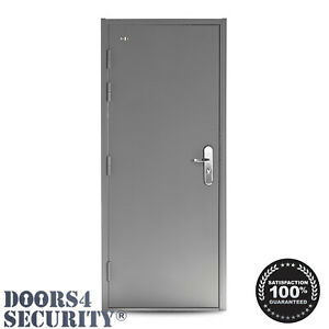 STEEL SECURITY DOOR   W/ 12 MULTIPOINT LOCKING   SINGLE STD 🆓FREE DELIVERY🆓
