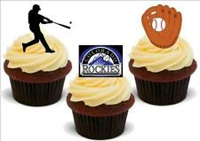 Baseball Colorado Rockies Mix stand up Premium Carte Gâteau Toppers
