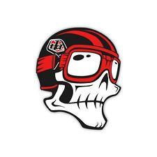 "Troy Lee Designs TLD Skully Sticker 6"" Red/Black"