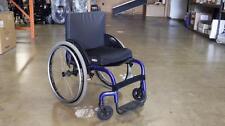 """Quickie  Q7 Rigid Manual Wheelchair - Blue - 18"""" x 17"""" - DEALER DEMO"""