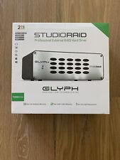 Glyph StudioRAID 2TB 2-Bay Raid Desktop External Hard Drive with USB 3.0 Connec