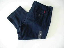 Ralph Lauren Boys Chino Pants Aviator Navy Sz 18 - NWT