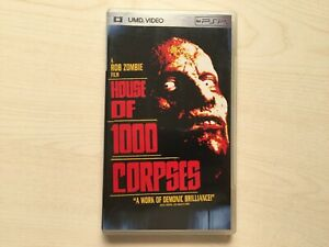 House of 1000 Corpses - Rob Zombie UMD Movie for PSP USED
