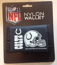 NEW INDIANAPOLIS COLTS NYLON TRIFOLD WALLET BILLFOLD NFL LICENSED