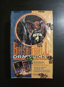 1993 🏀 Classic Basketball Draft Picks  Factory ( COLLECTOR'S Sealed Wax Box ).