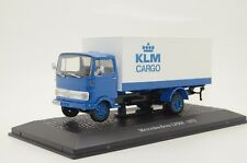 Rare ! Mercedes LP608 KLM Cargo 1972 Truck Custom Made 1/43