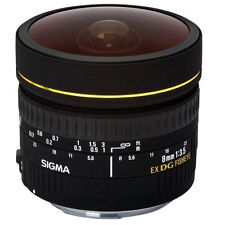 Sigma 8mm f/3.5 EX DG Circular Fisheye Lens for Canon DSLR U.S Authorized Dealer
