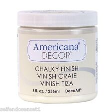 236ml lace creme Americana Chalky Finish Farbe Möbel shabby chic whitewash Möbel