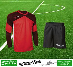 Torwartset: Cawila TW-Shorts + Alpas Torwart-Trikot Alpas Dynamic rot 128 + 140