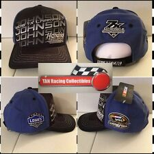 Jimmie Johnson 2016 Checkered Flag #48 Lowe's 7X Sprint Cup Champion Hat FREE
