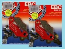 2x Sets EBC FA159TT  Front Brake Pads for Polaris 500 Outlaw &  Predator 2003-07