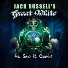 JACK RUSSELL'S GREAT WHITE 'He Saw It Coming' CD 2017 Melodic Hard Rock
