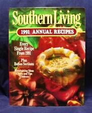 Southern Living Annual Recipes Cookbook 1991 Edition Like New